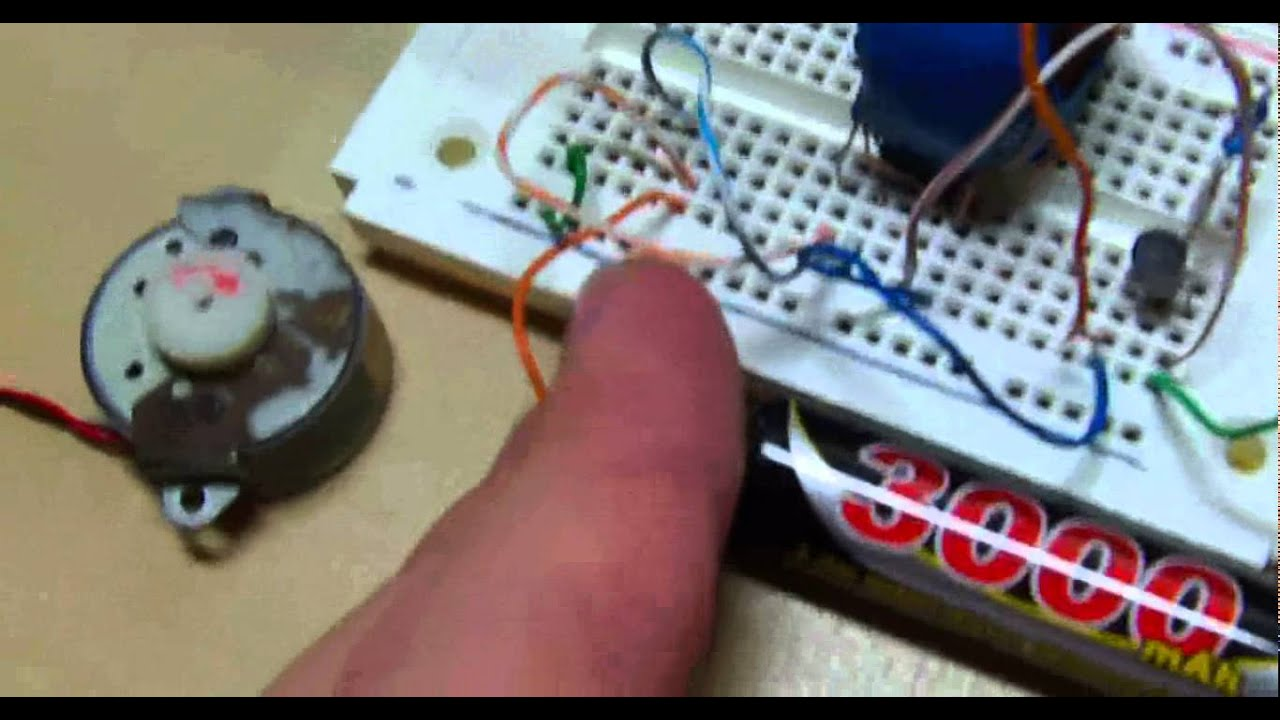 Joule Thief 20volt Dc Motor Youtube Watt Led Driver Using A Circuit Homemade