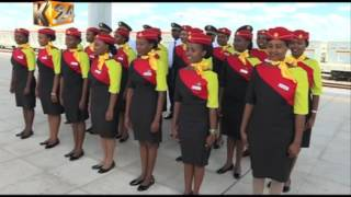 Hundreds throng stations to experience SGR passenger train