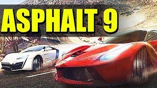 Asphalt 9 - Игра на андроид