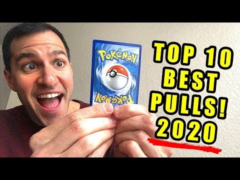 *IT'S TIME!* My Top 10 BEST Pokemon Cards Pulls (2020 Q1)