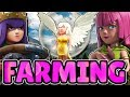 QUEEN WALK ARCHER FARMING | TH9 - TH10 FARMING STRATEGY | Clash of Clans