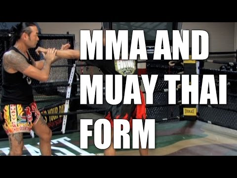 MMA Muay Thai Basic Form
