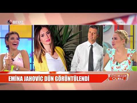Mustafa Sandal'dan ayrılan Emina Jahovic ile Sadettin Saran aşk mı yaşıyor?