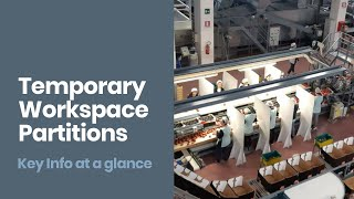 Temporary Workspace Partitions [Quick Guide]: Staff Protection During Coronavirus