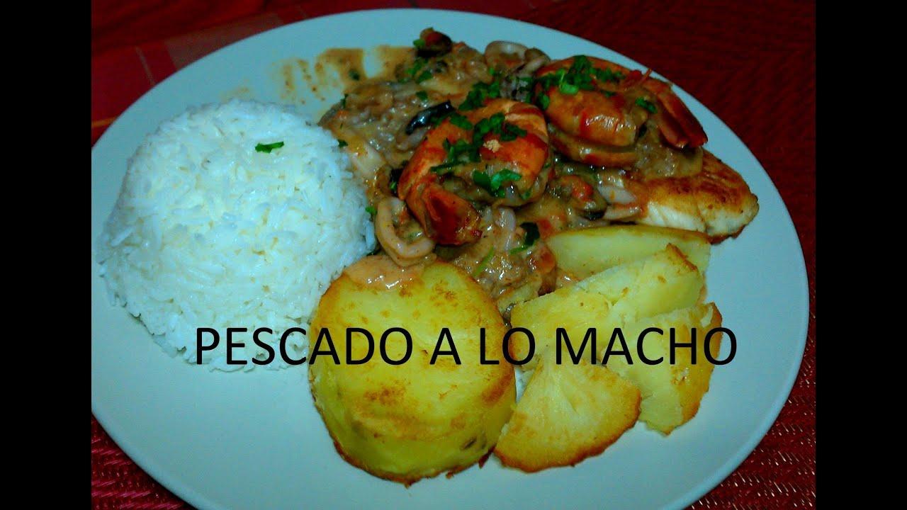 Pescado A Lo Macho 2012 Youtube