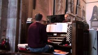 "Organist Rob Charles Plays The Hymn - Love Divine Tune Blaenwern With ""Last Verse"""
