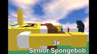 Ainda mais maneiras de matar Spongebob em ROBLOX Vol 1