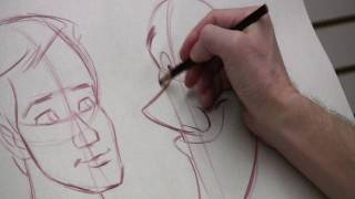 Facial Proportions For Cartooning With Peter Emslie (Part 1 Of 2)