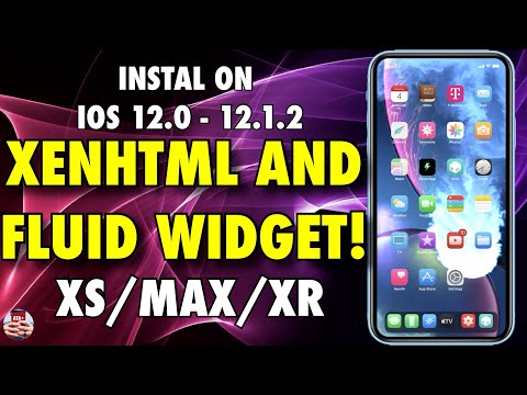 INSTALL XENHTML AND THE FLUID WIDGET WITH THE CHIMERA JAILBREAK! INSTALL ON  A12 iOS 12 0 - 12 1 2!