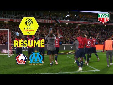 LOSC - Olympique de Marseille ( 3-0 ) - Résumé - (LOSC - OM) / 2018-19