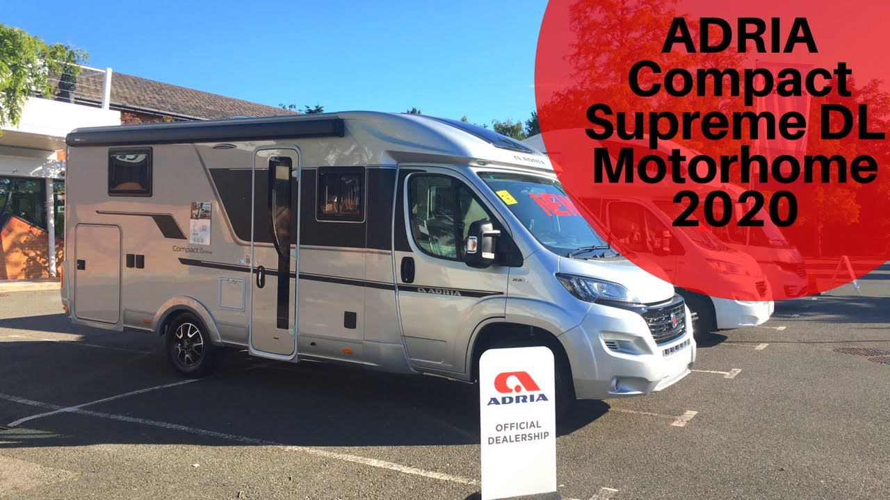Best Small Rv 2020 NEW* Adria Compact Supreme DL Motorhome 2020   YouTube