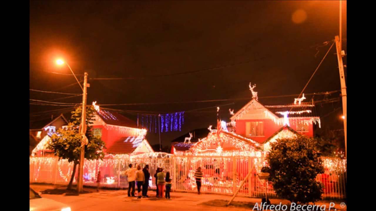 Time lapse casa adornada en navidad puente alto santiago - La casa de la navidad ...