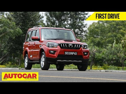 2014 Mahindra Scorpio  First Drive Video   Autocar India