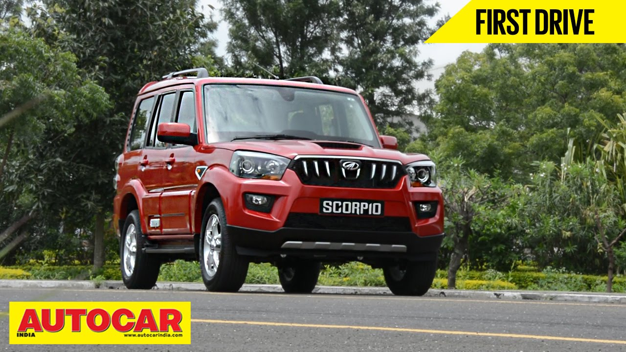 2014 mahindra scorpio first drive video review autocar india youtube