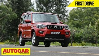 2014 mahindra scorpio   first drive video review   autocar india