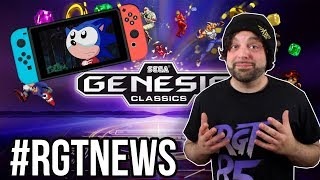 Sega Genesis Classics COMING 2018 to PS4 Xbox One, But Not Switch?! | #RGTNEWS