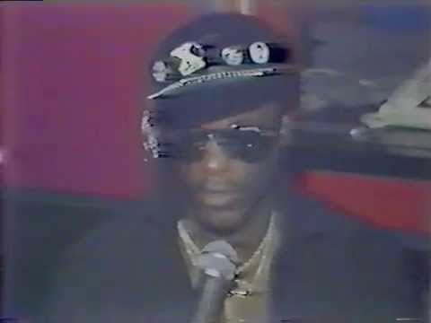 PRINCE CHARLES ALEXANDER BEING INTERVIEWED AT SPIT IN BOSTON-1984