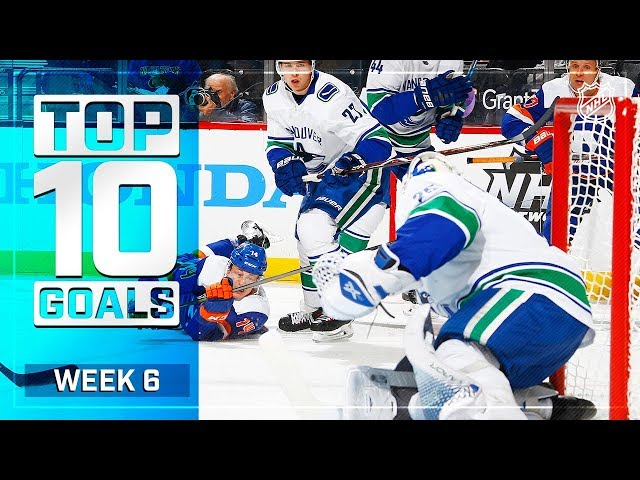 Top 10 Goals from Week 6