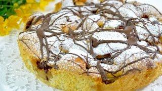 Ciasto biszkoptowe z jabłkami i marmoladą - Jak zrobić- Smakowite Dania