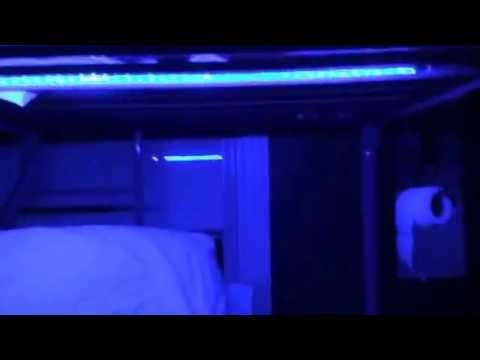 How to make led bunkbed party lights  YouTube