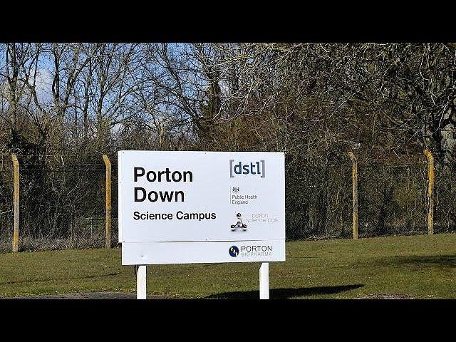 <h2><a href='https://webtv.eklogika.gr/m-vretania-diapseydei-to-porton-down-diarroi-toxikis-oysias' target='_blank' title='Μ. Βρετανία: Διαψεύδει το Porton Down διαρροή τοξικής ουσίας'>Μ. Βρετανία: Διαψεύδει το Porton Down διαρροή τοξικής ουσίας</a></h2>