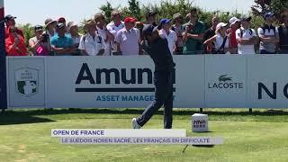 Open de France : le suédois Noren sacré, les français en difficulté