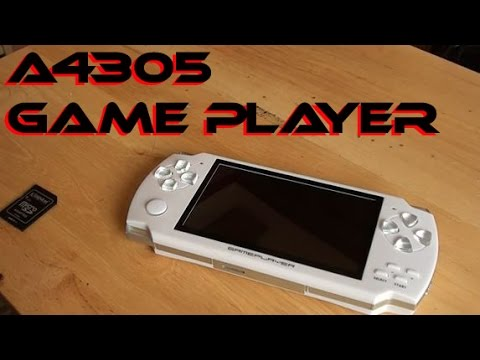A4305 Game Player  System Review   YouTube