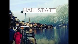 Beautiful snowy drive to gorgeous HALLSTATT! Day trip from SALZBURG, AUSTRIA.