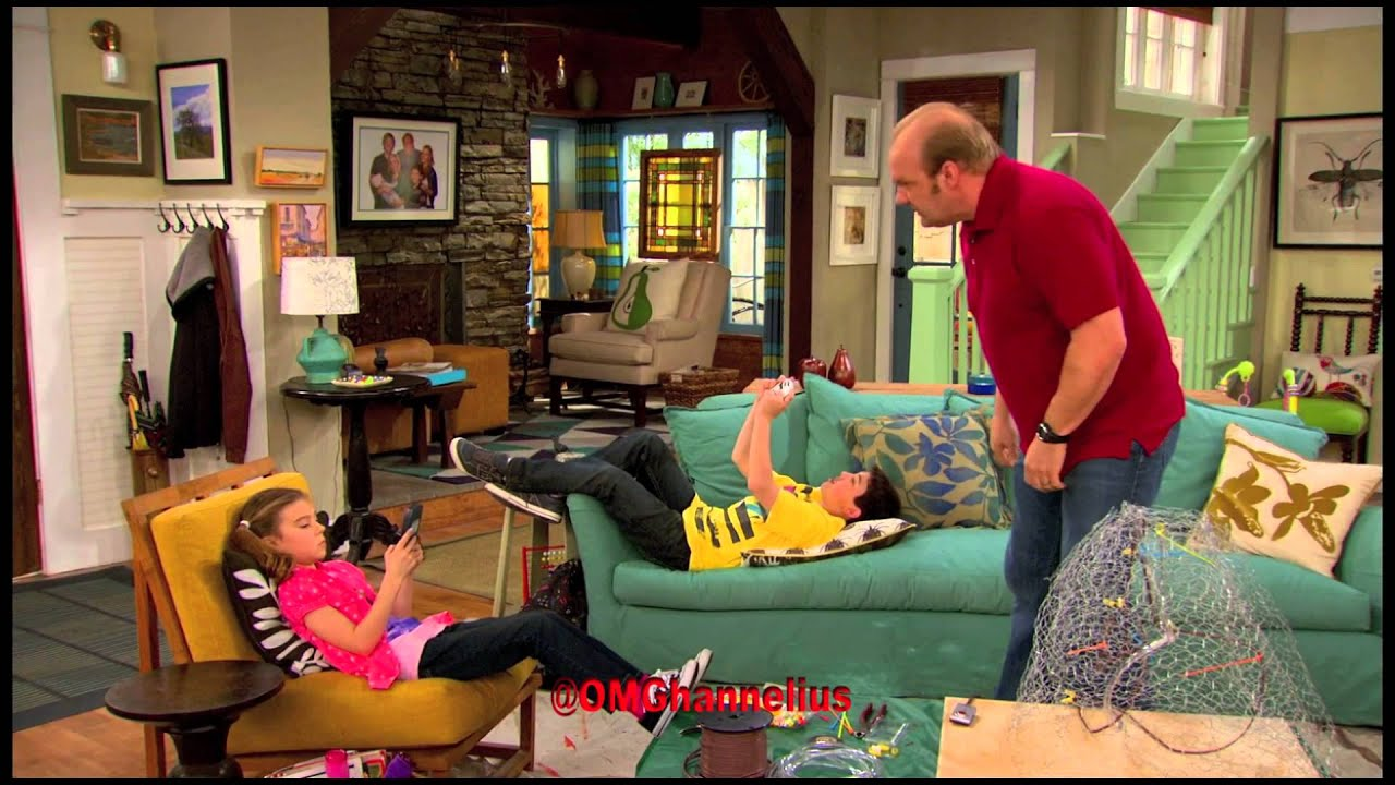 G hannelius on good luck charlie as jo keener charlie in charge clip 2 hd