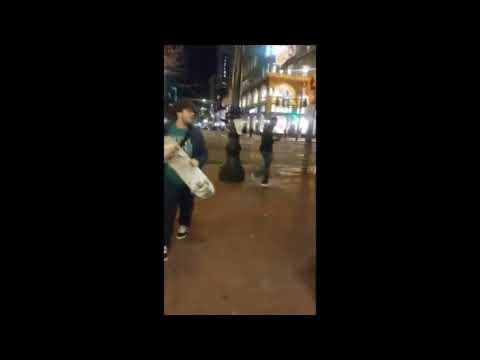 Street fight Knockout compilation Part 9(crazy bloody knockouts)
