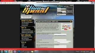LFS Create a Online Profile And Unlock S2 License