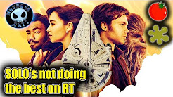 SOLO getting mixed reactions on Rotten Tomatoes