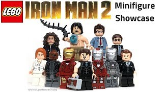 LEGO IRON MAN 2 Minifigure Showcase - Road to Avengers 4