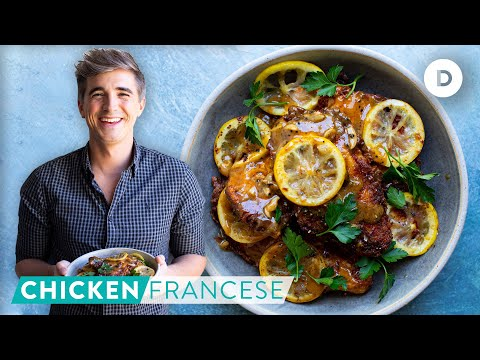 Recipe: Lemon Chicken Francese!
