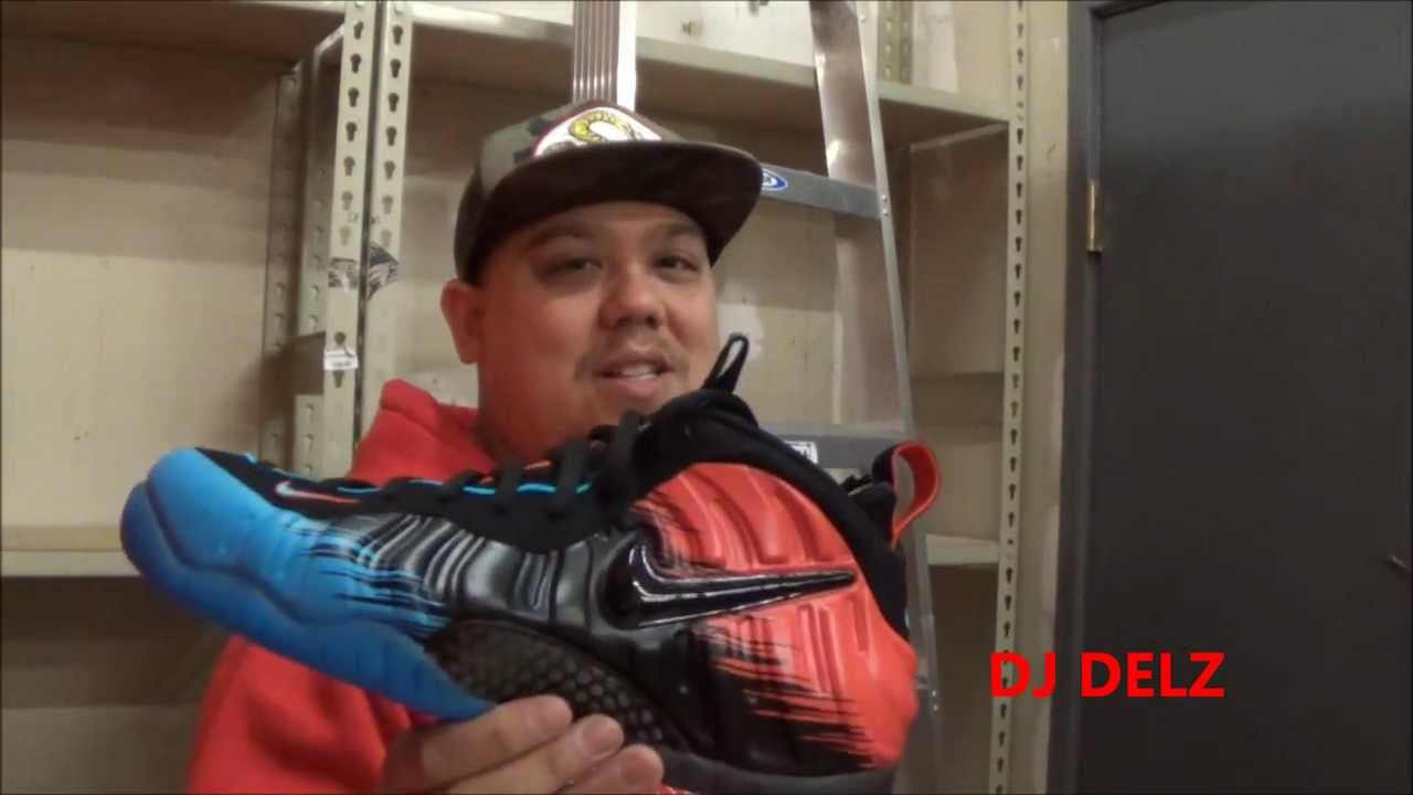4c86eda832c Nike Air Foamposite Pro Spiderman PRM Sneaker Review + On Feet W   DjDelz -  YouTube