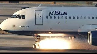 JetBlue Landing Gear Failure at LAX [HD][Part 2]
