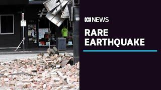 Mansfield magnitude-5.9 earthquake shakes Melbourne, south-eastern Australia | ABC News