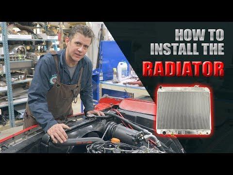 How To Install a Radiator in the 1964 Cadillac Eldorado