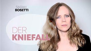 Post von Sarah Bosetti – Der Kniefall