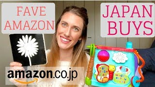 My Favorite Amazon Japan Products + Toys For One Year Olds