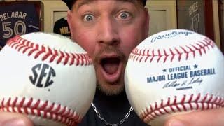 MLB BASEBALLS SUCK! -  Baseballs from every level!  (MLB, MiLB, D1, JUCO, HS, TRAVEL, LITTLE LEAGUE)