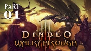 Diablo 3 - Walkthrough - Part 1 (Gameplay & Commentary)