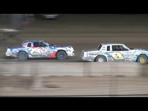 Nielsen Racing Spencer 8-4-19 IMCA Hobby Stock Mid-Summer Shootout Night #4