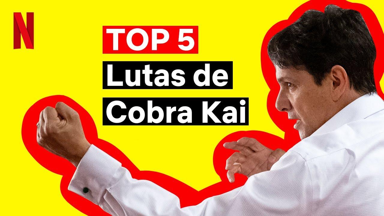 As 5 melhores lutas de Cobra Kai | Netflix Brasil