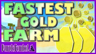 Modo più veloce per coltivare TONS OF GOLD!!!! (Roblox Booga Booga) PurpleFembot