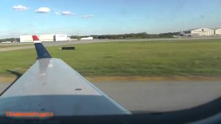 US Airways Taxi and Takeoff Piedmont Triad Intl thumbnail