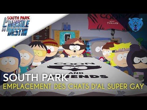 SOUTH PARK (PS4)   Emplacement Des Chats D'Al Super Gay