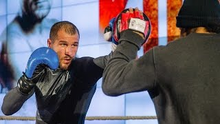 Sergey Kovalev trains for Jean Pascal