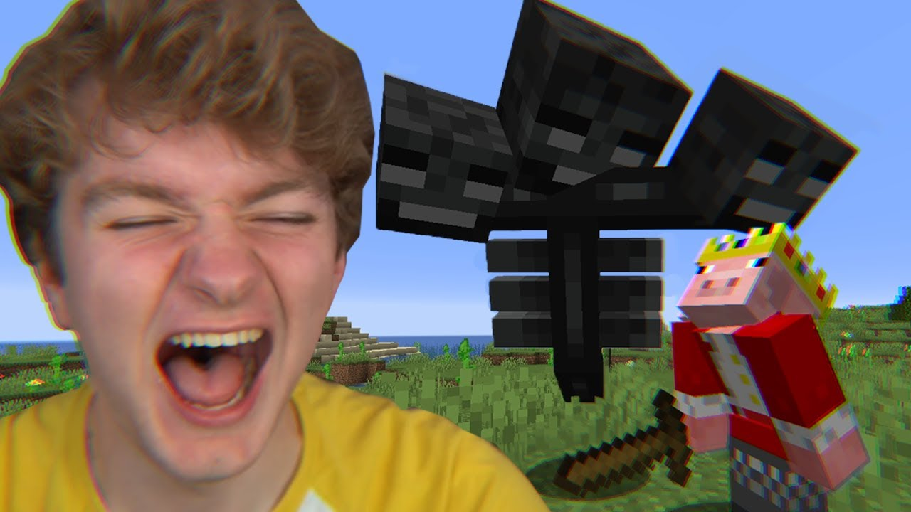 Minecraft, But My Friend Is A Wither...
