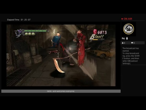 Ssgss Myron play Devil may cry hd collection